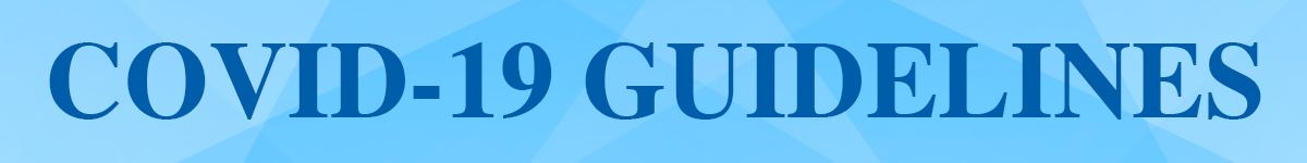 COVID 19 Guidelines Button