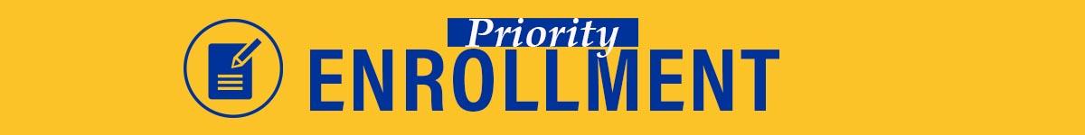 Priority Enrollment Button