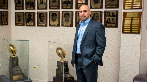 Mike Salinas has been named the 12th head coach of Javelina Football.