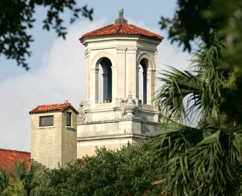 College Hall tower
