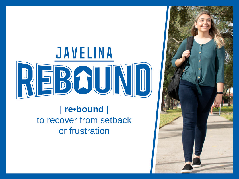 The Javelina Rebound program leverages federal support from the Higher Education Emergency Relief Fund and will cover debt owed to the institution incurred by students during the COVID-19 pandemic.