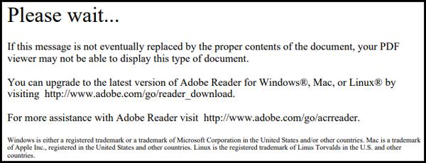 PDF Error